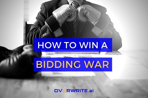 Let the Bidding Wars begin 🥊